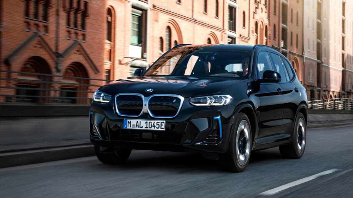 Nuevo BMW iX3 2021: estos son sus precios para España