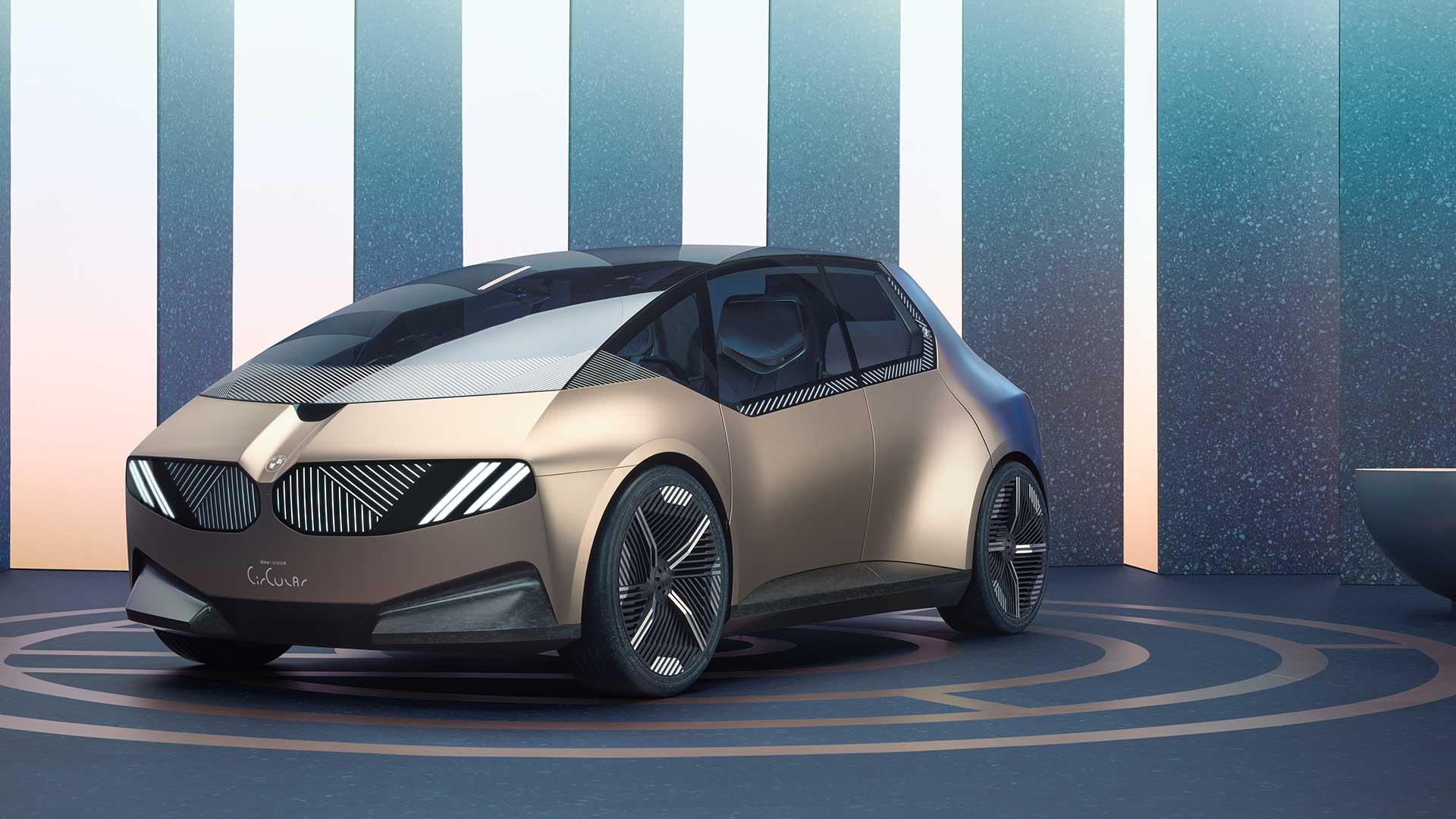 BMW i Vision Circular, o cómo la marca alemana imagina un compacto en 2040