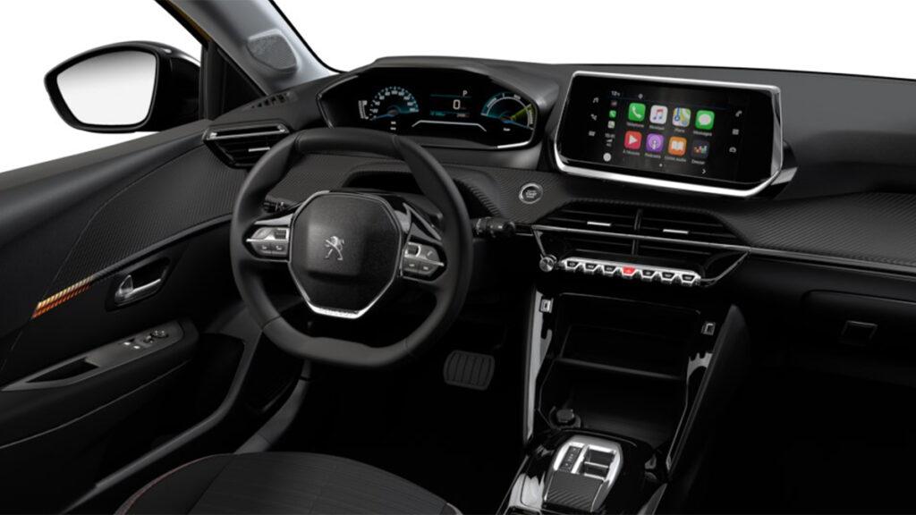 Peugeot e 208 interior
