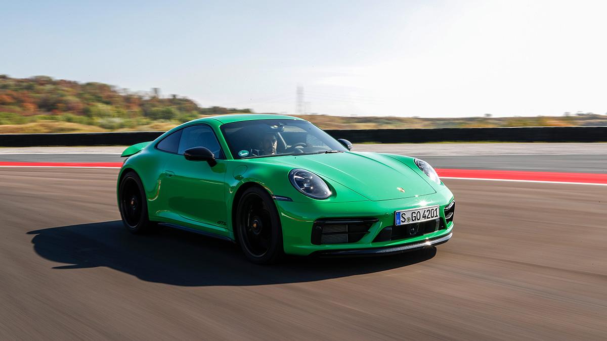 Prueba del nuevo Porsche 911 GTS