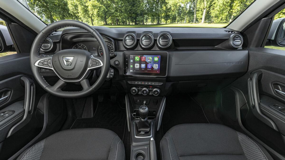 Nuevo Dacia Duster 2021 salpicadero