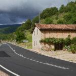 Valle del Iregua en un Audi A5 cabrio. Pradillo