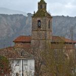 Valle del Iregua en un Audi A5 cabrio. Nestares. Iglesia
