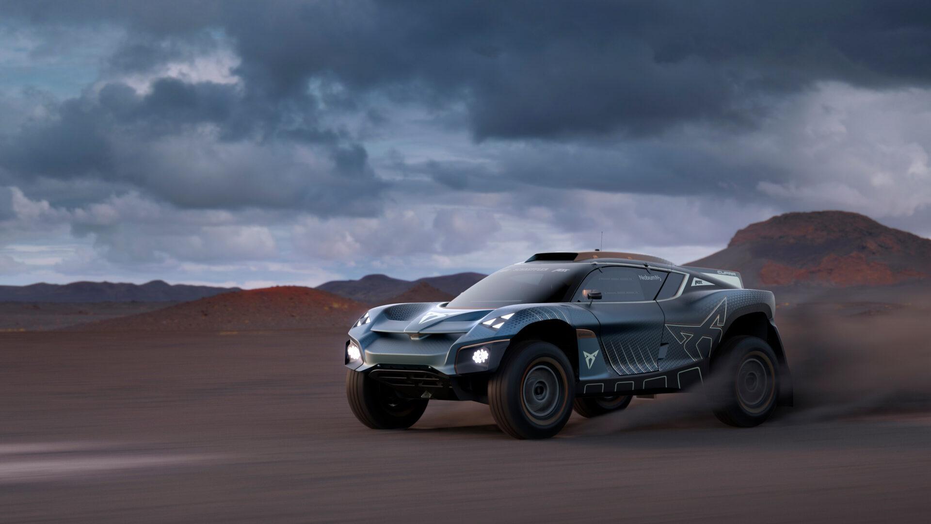 Cupra Tavascan Extreme E Concept: un eléctrico de competición anticipo del futuro Tavascan