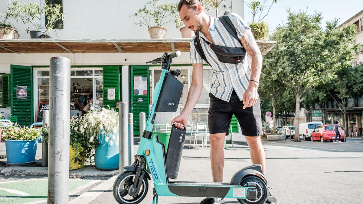 Los patientes eléctricos de la compañía de micro movilidad Tier aterrizan en España