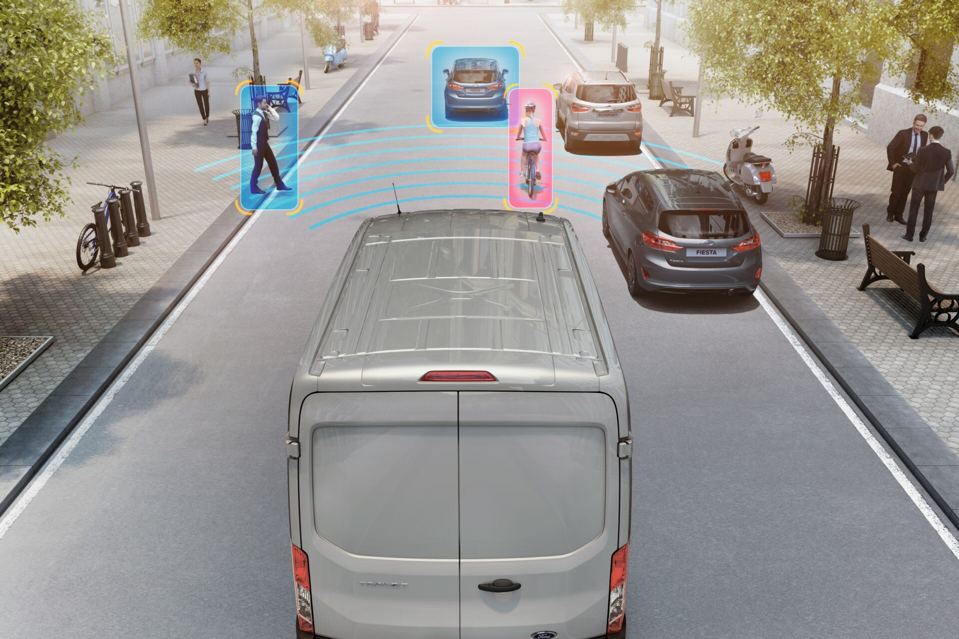 Ford Transit tecnología