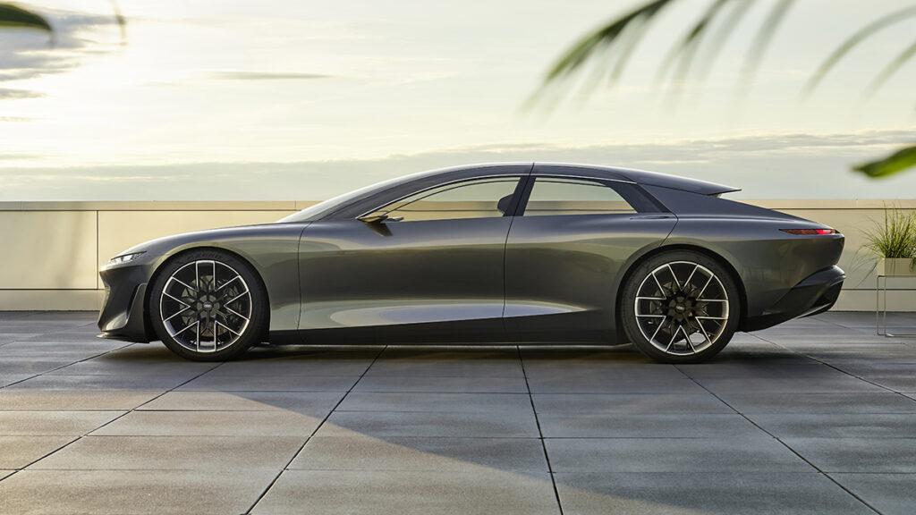 Audi Grand Sphere perfil
