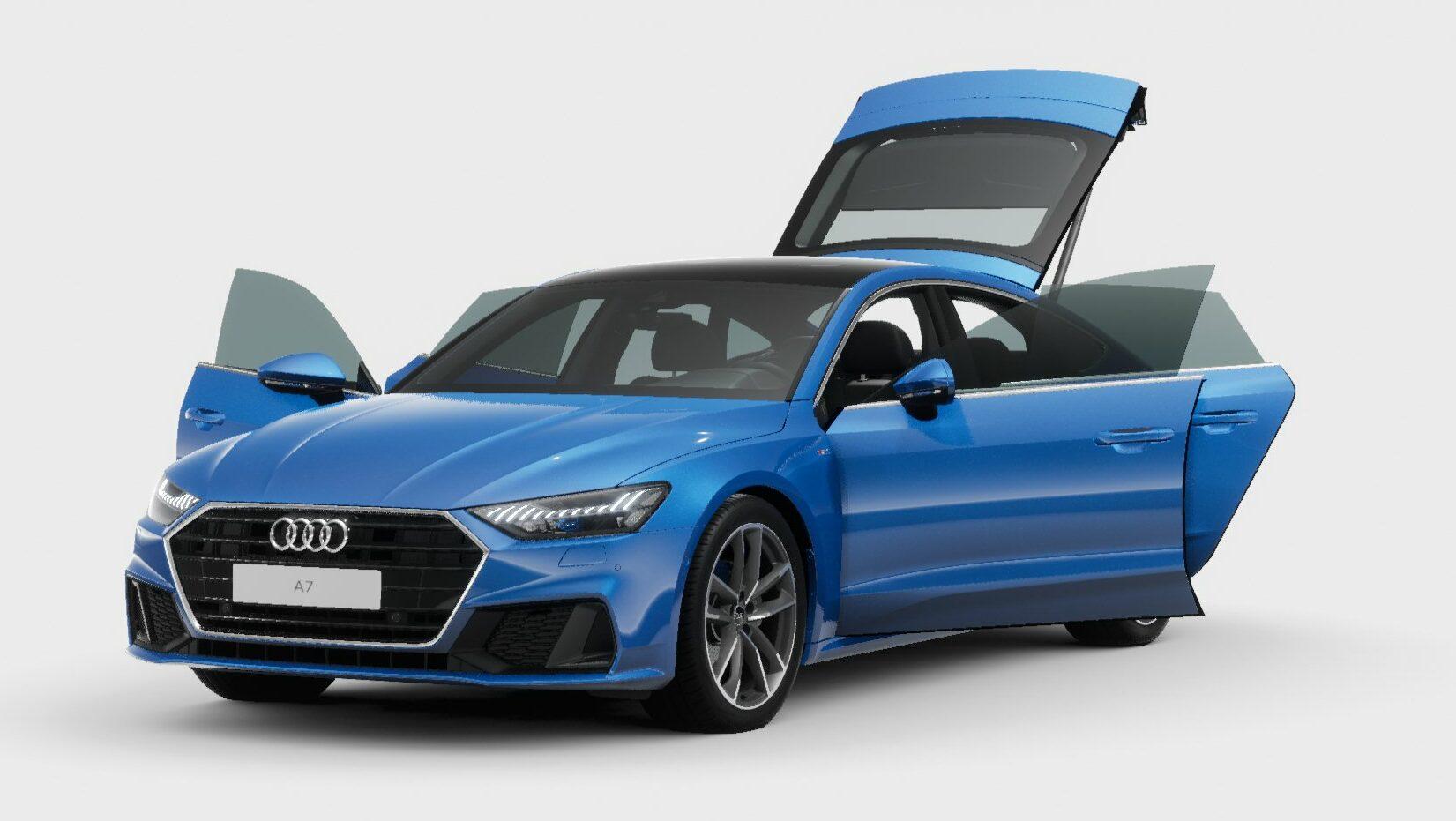 Nuevo Audi A7 Sportback 40 TFSI 2021: no me llames básico, soy mucho más