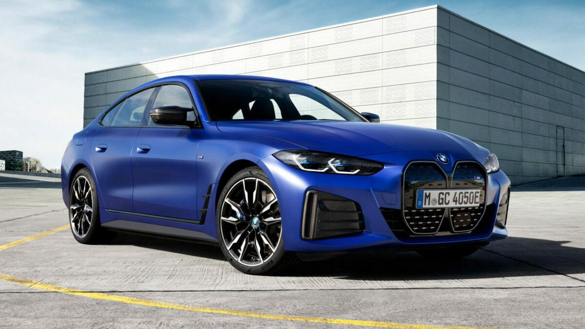 Nuevo BMW i4 M50 2021: 544 CV para el primer deportivo eléctrico con el sello M