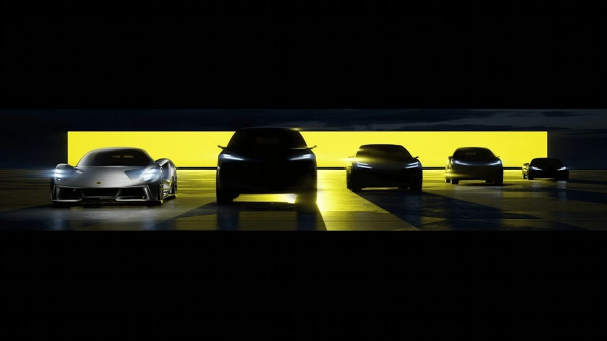 Lotus anuncia que lanzará cuatro nuevos modelos 100% eléctricos de aquí a 2026