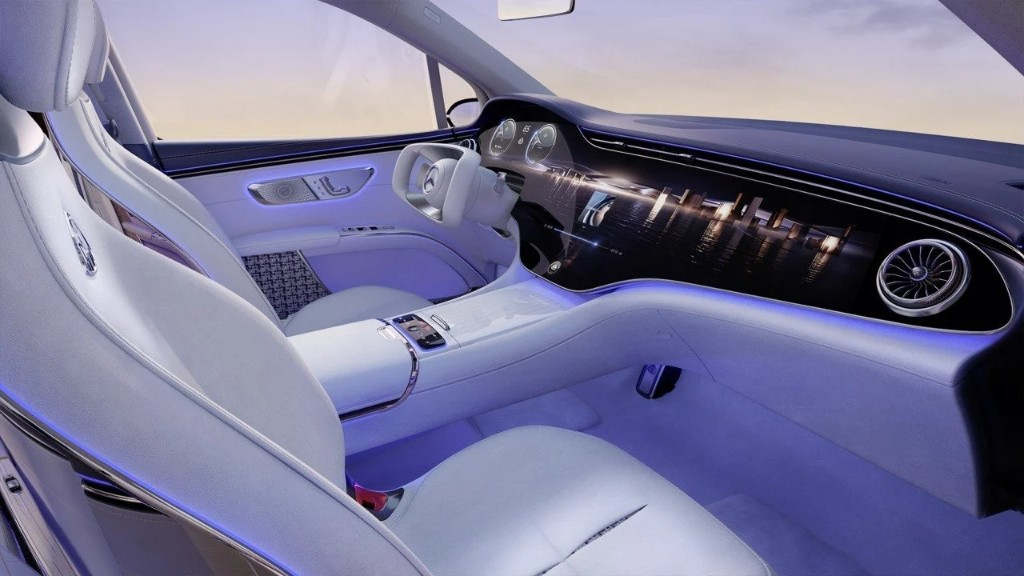 Mercedes-Maybach EQS Concept interior