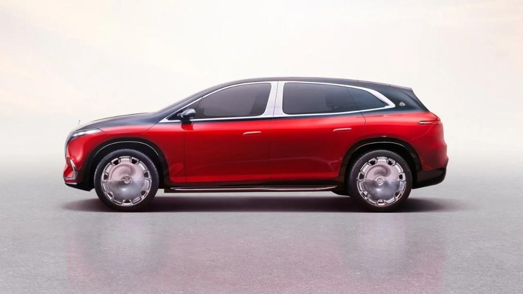 Mercedes-Maybach EQS Concept perfil