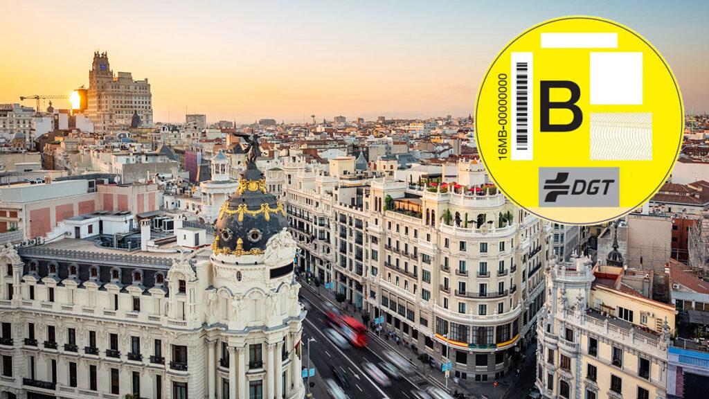 distrito centro Madrid