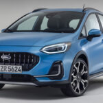 Ford Fiesta 2022 restyling