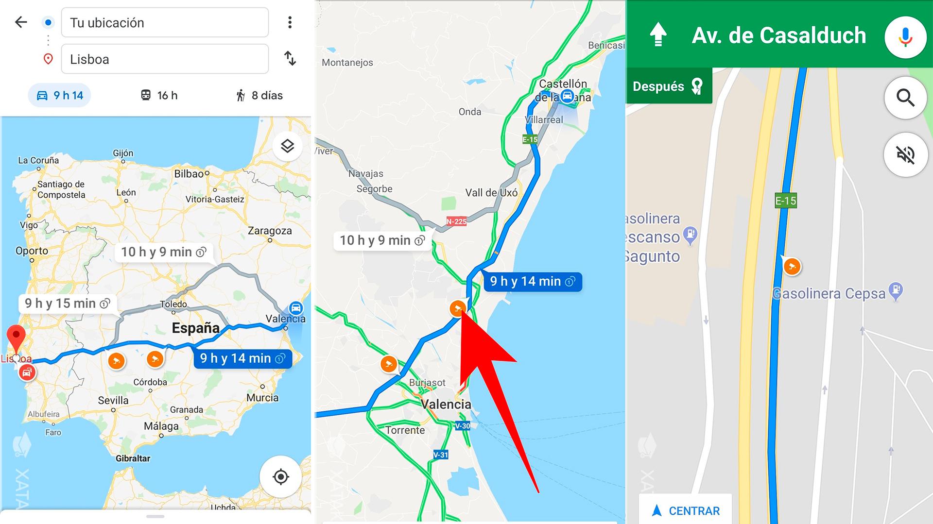 Google Maps: cómo activar la alerta de radares y accidentes de tráfico