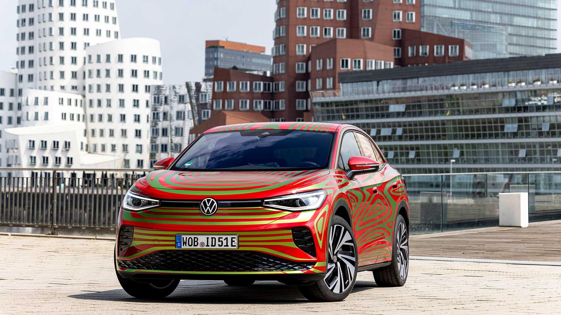 Nuevo Volkswagen ID.5 GTX 2022: el SUV eléctrico de VW para el Salón de Múnich