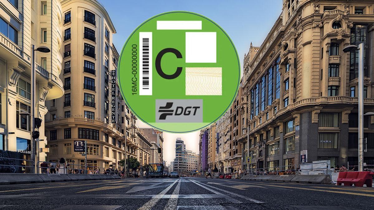 Madrid etiqueta C