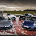 Porsche 911 PDK y BMW M2 CS DCT frente a sus versiones manuales