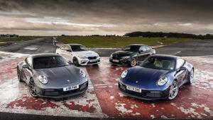 Comparativa Porsche 911 PDK y BMW M2 CS DCT frente a sus versiones manuales