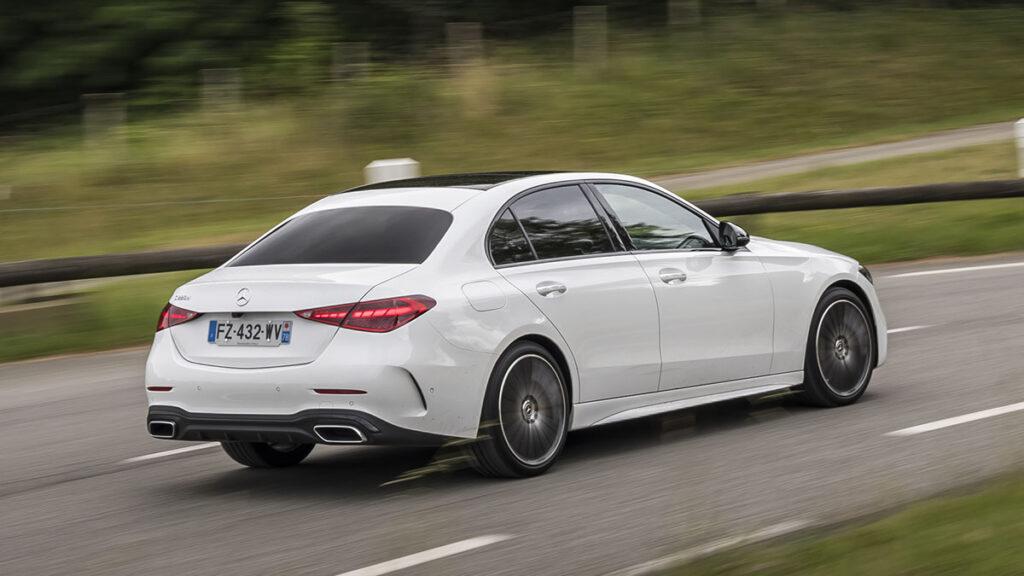 Mercedes-Benz Clase C trasera