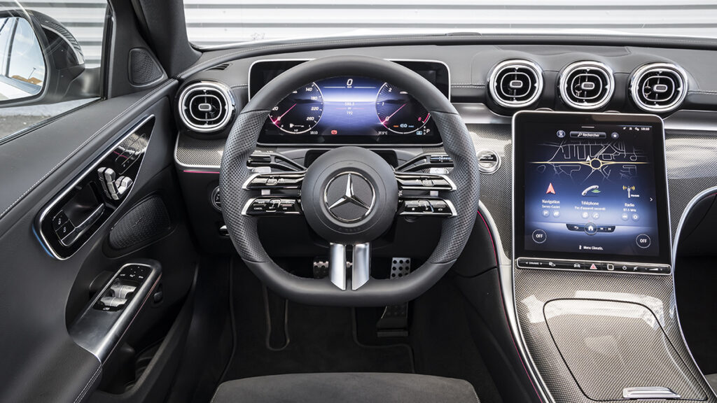 Mercedes-Benz Clase C interior