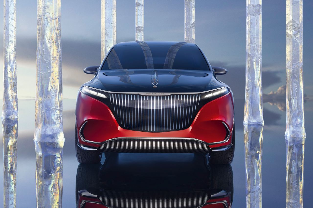 Mercedes-Maybach EQS Concept frontal