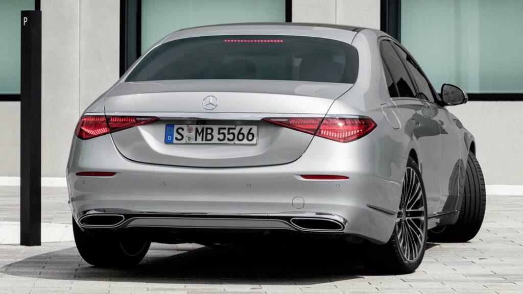 Mercedes Clase S, dirección de las ruedas traseras