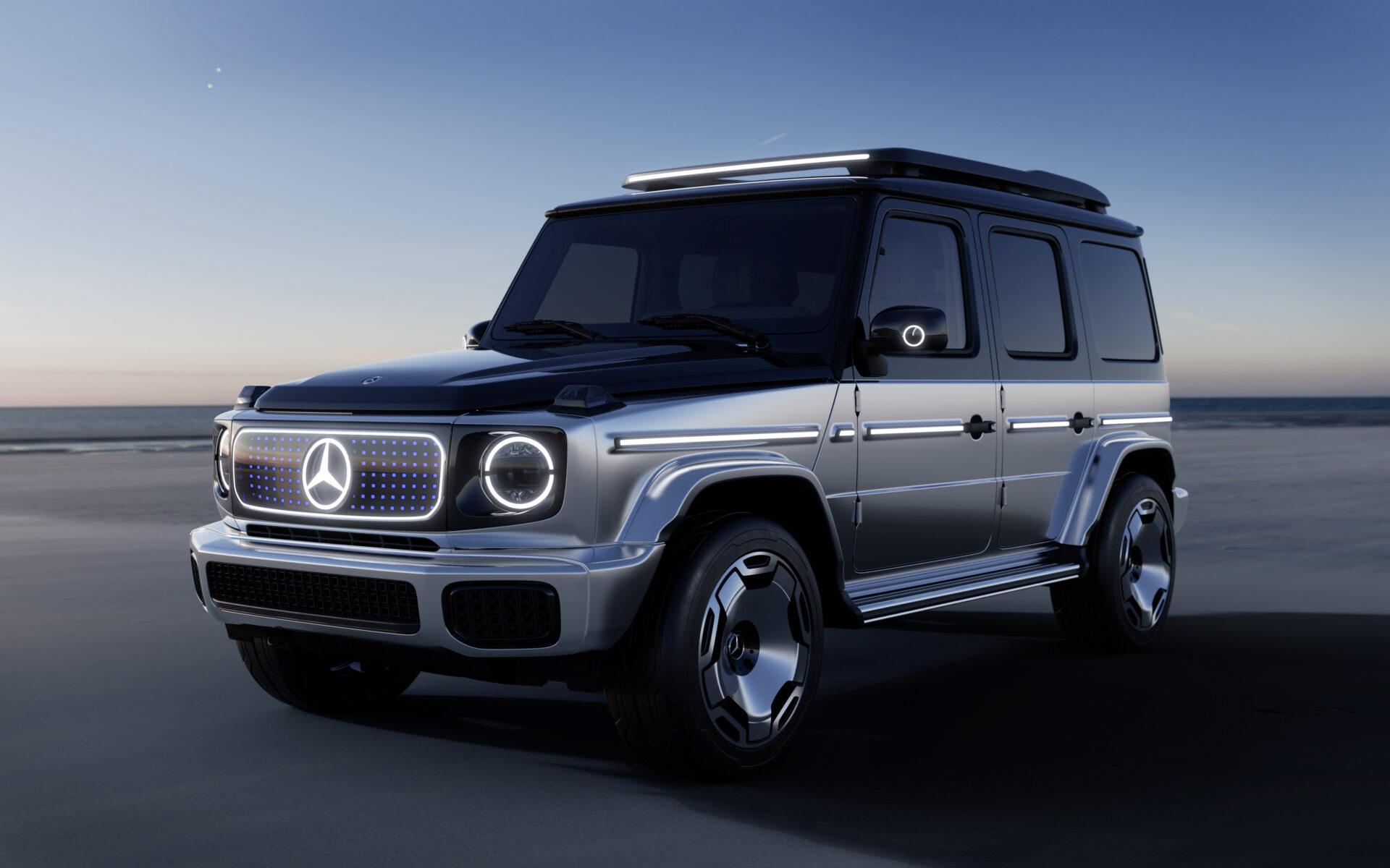 Nuevo Mercedes Concept EQG: el Clase G 100 % eléctrico, cada vez más cerca