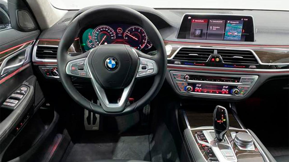 BMW Serie 7 interior