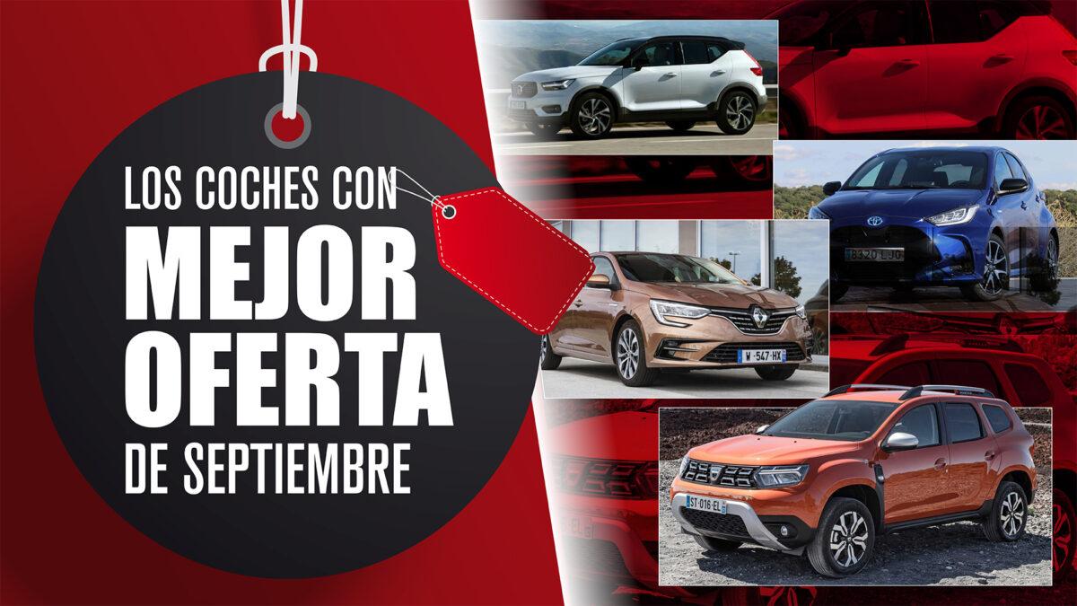 coches oferta septiembre
