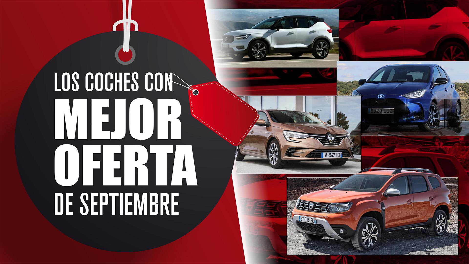 Los coches con mejor oferta del mes de septiembre