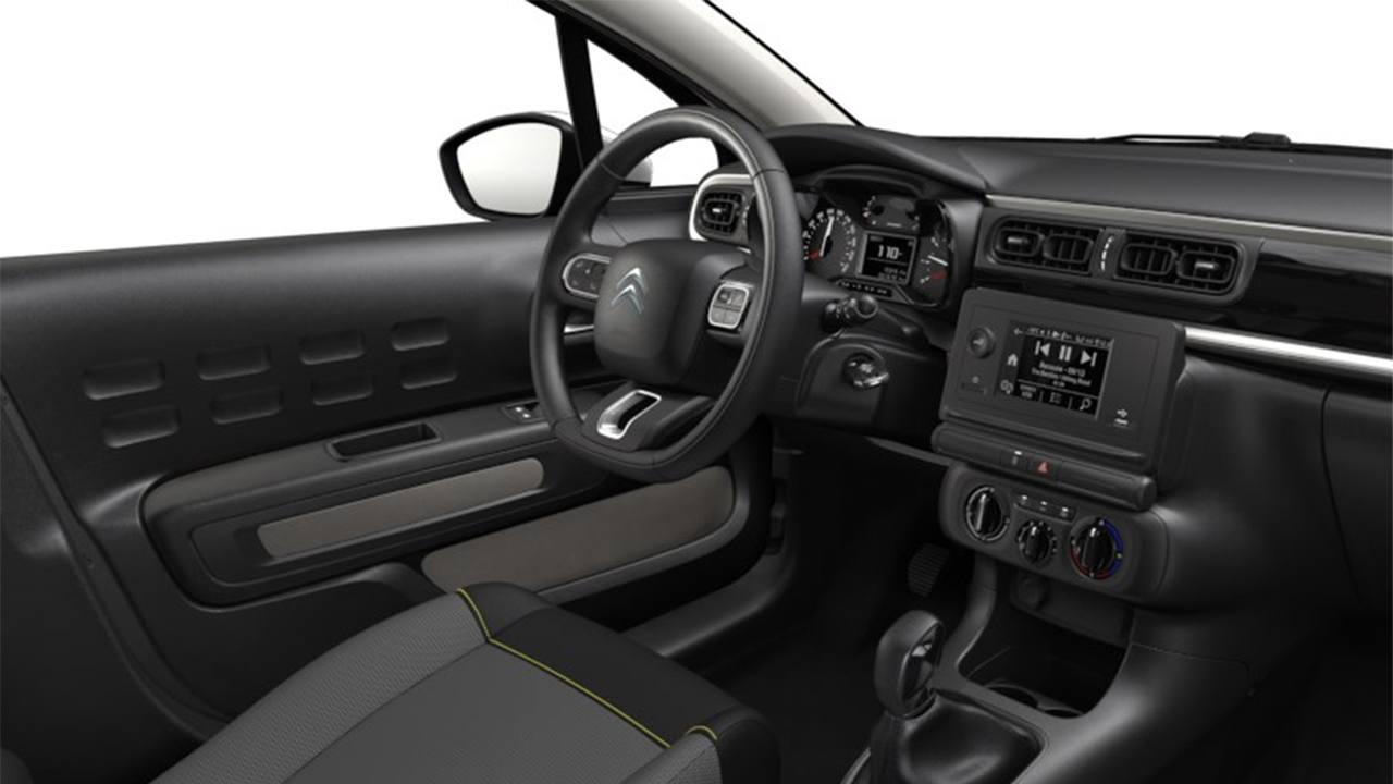 Citroen C3 You! interior