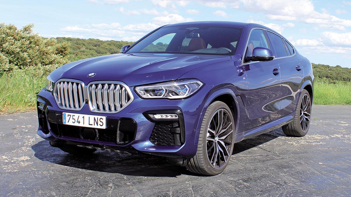 Prueba BMW X6 xDrive30d