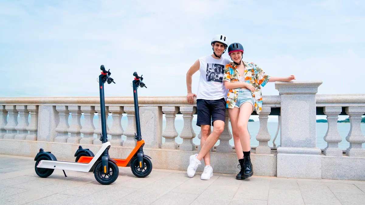 Nuevo Komeet X9 E-Scooter: un patinete eléctrico con 100 km de autonomía