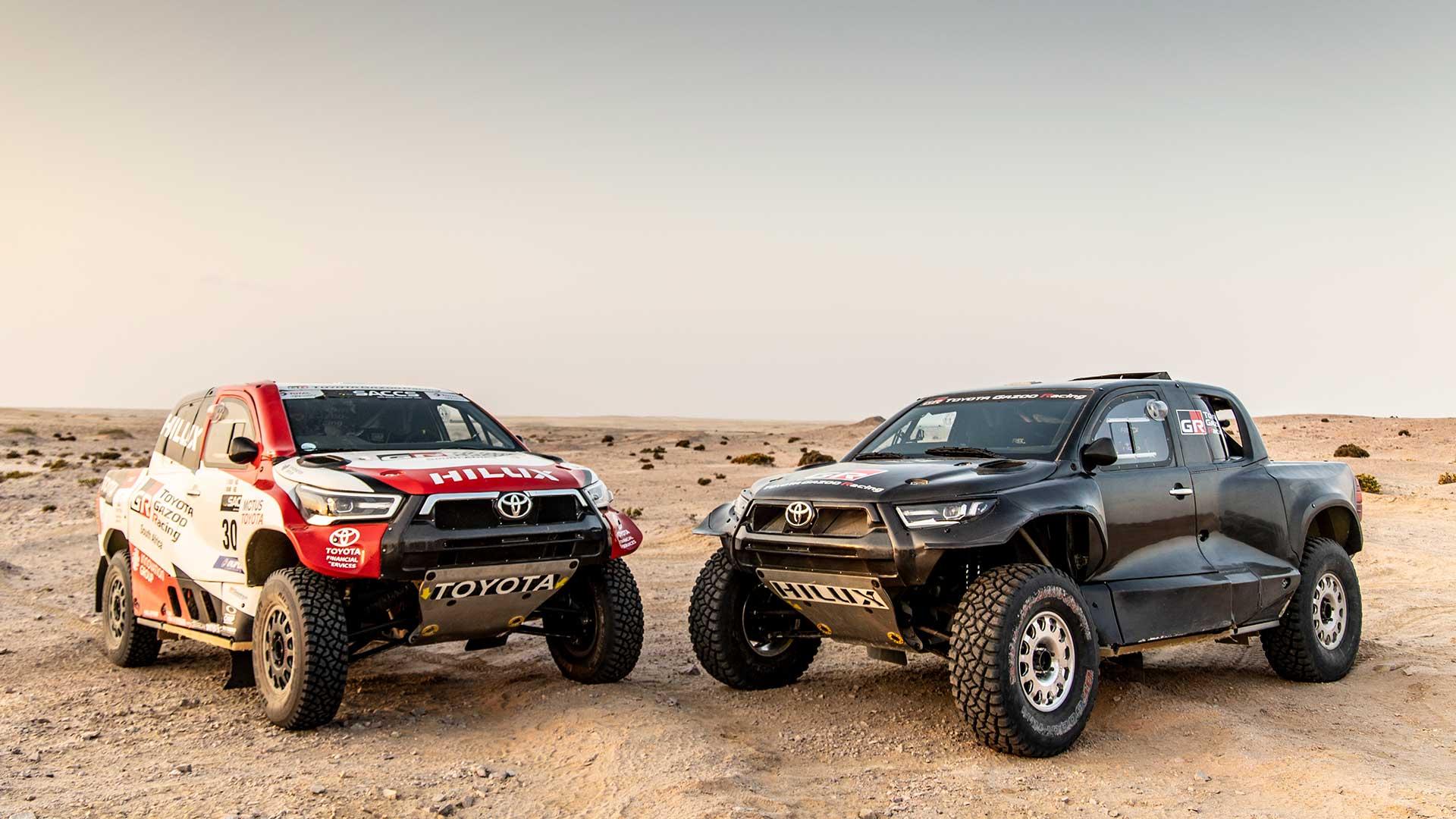 Toyota Gazoo Racing presenta su alineación para el Dakar 2022 con Al-Attiyah a la cabeza