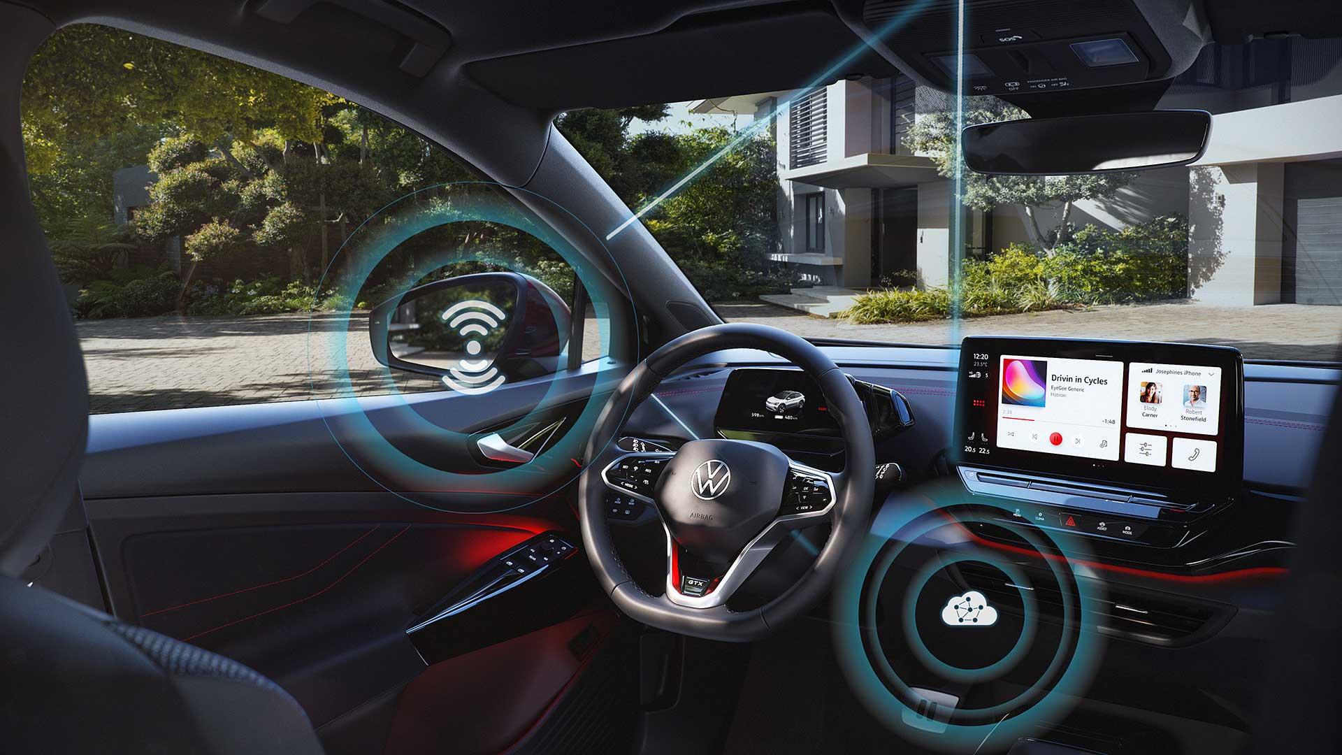 Volkswagen anuncia la llegada de las actualizaciones inalámbricas a la gama ID.
