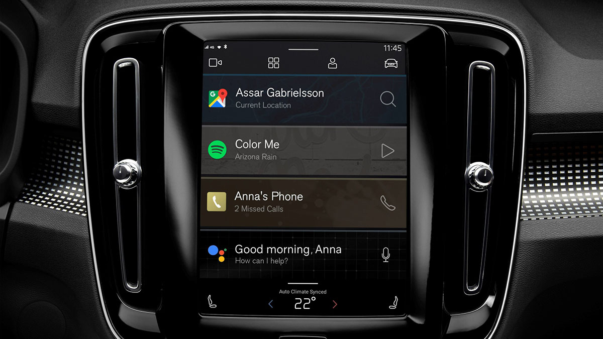 volvo xc40 android os