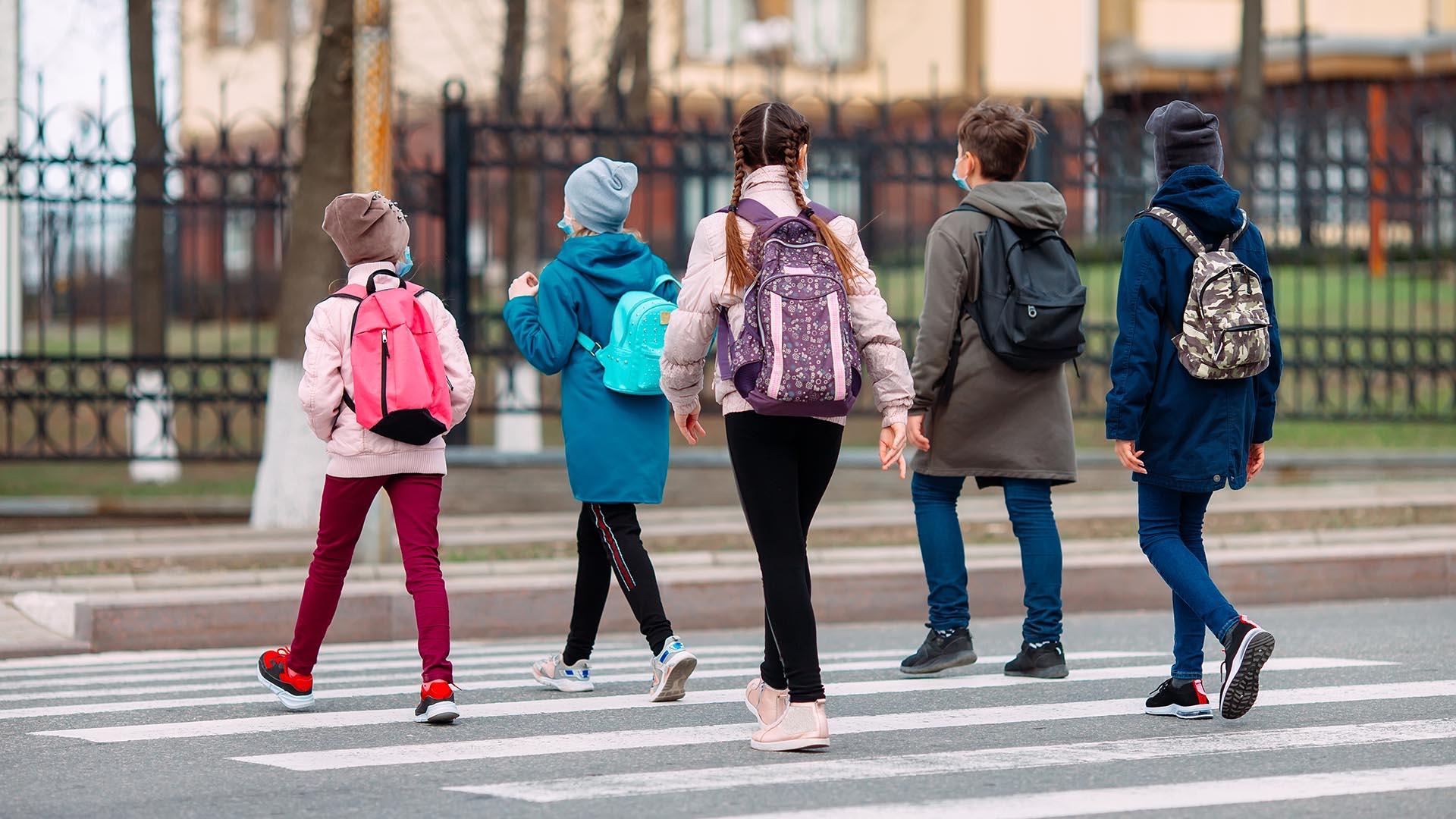 7 consejos para un camino escolar seguro