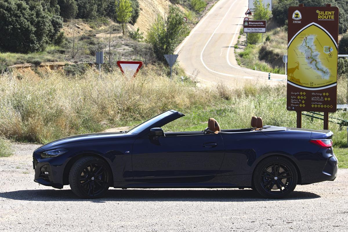 España en cabrio (III): Teruel, la otra ruta del silencio, ruta en BMW 430i