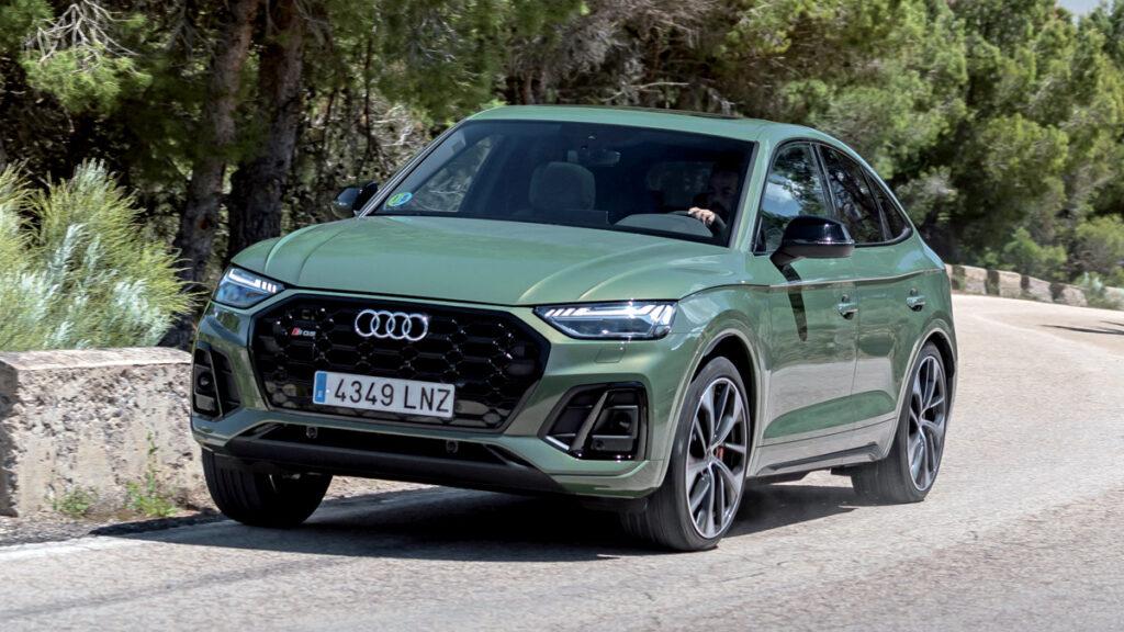 Audi SQ5 Acción