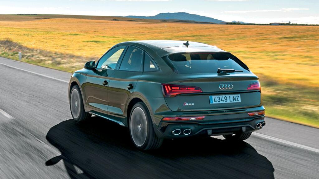 Audi SQ5 Sportback trasera