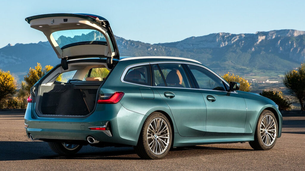 BMW Serie 3 Touring familiar