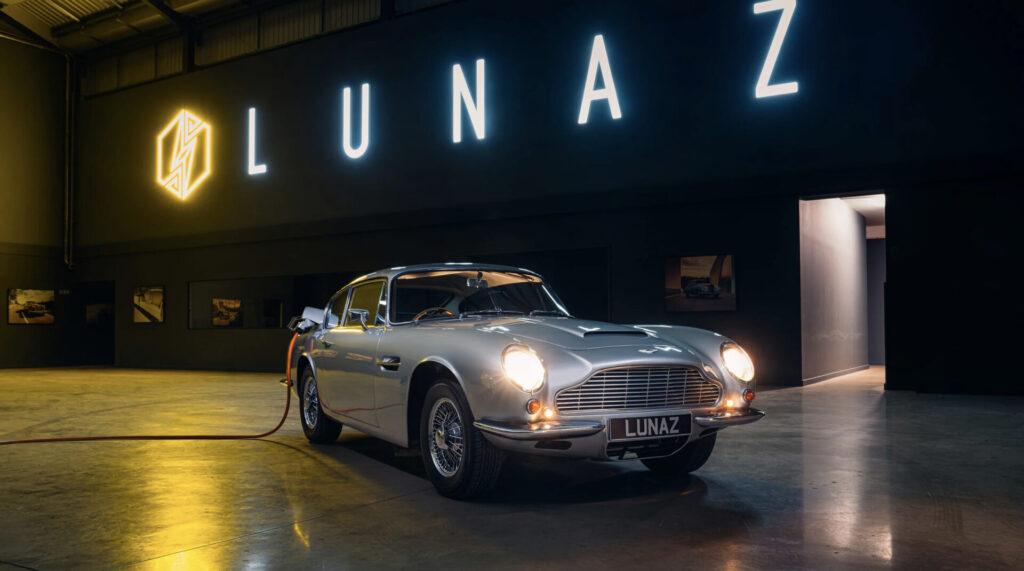 Lunaz presenta un restomod eléctrico del mítico Aston Martin DB6