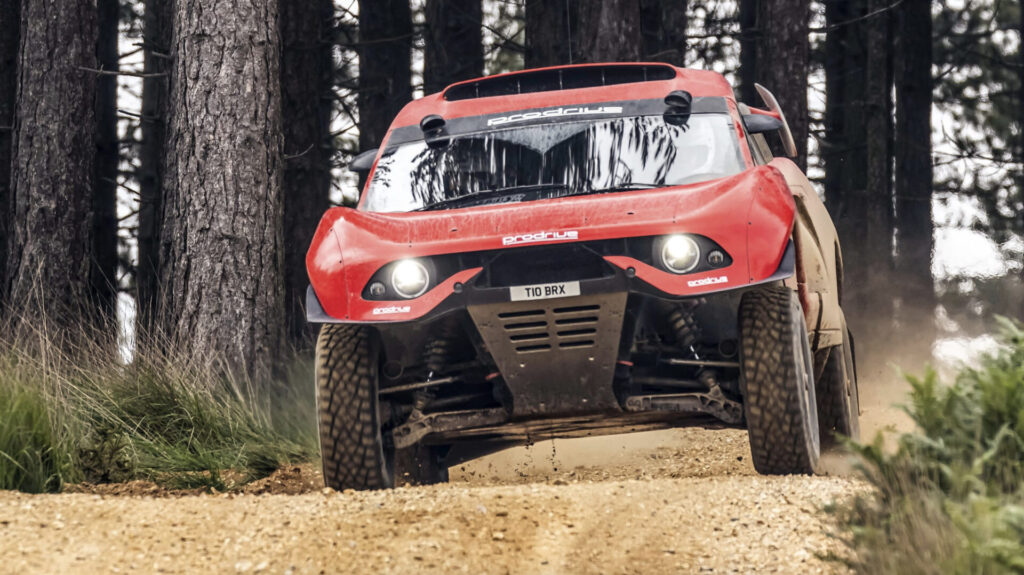 Prueba Prodrive Hunter T1+: al volante de un monstruo del rally-raid