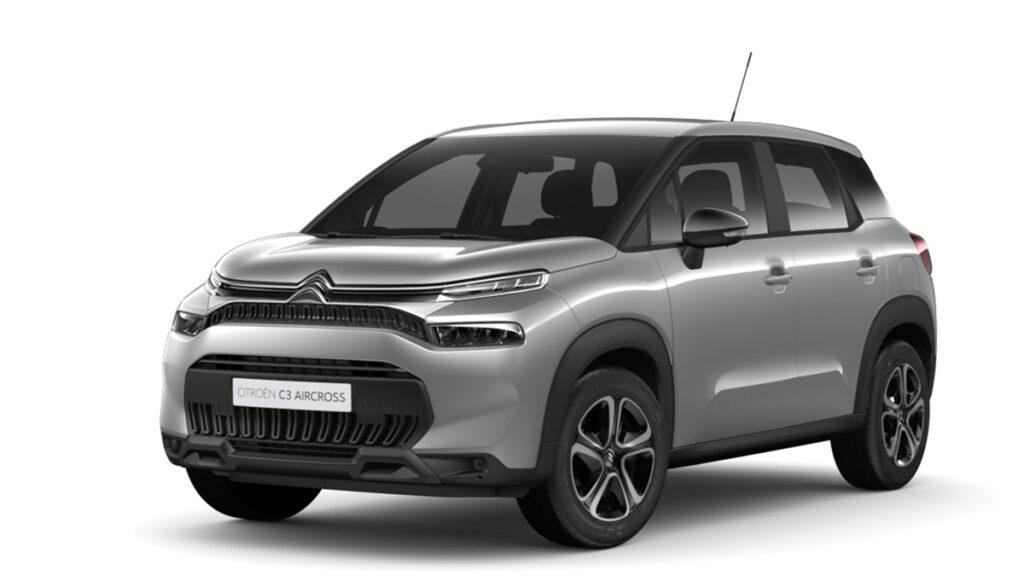 El Citroën C3 Aircross con motor PureTech de 110 CV en oferta, por 125 euros al mes