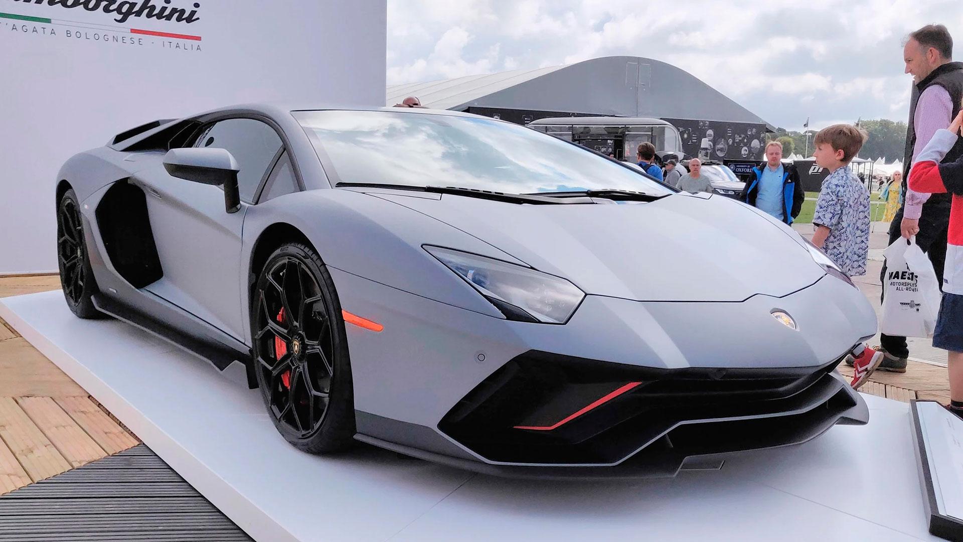Lamborghini Aventador Ultimae: el último V12 'puro' de la marca ya está agotado