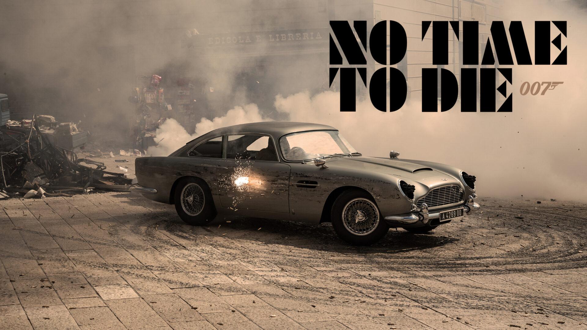 No Time to Die: los coches que aparecen en la nueva película de James Bond