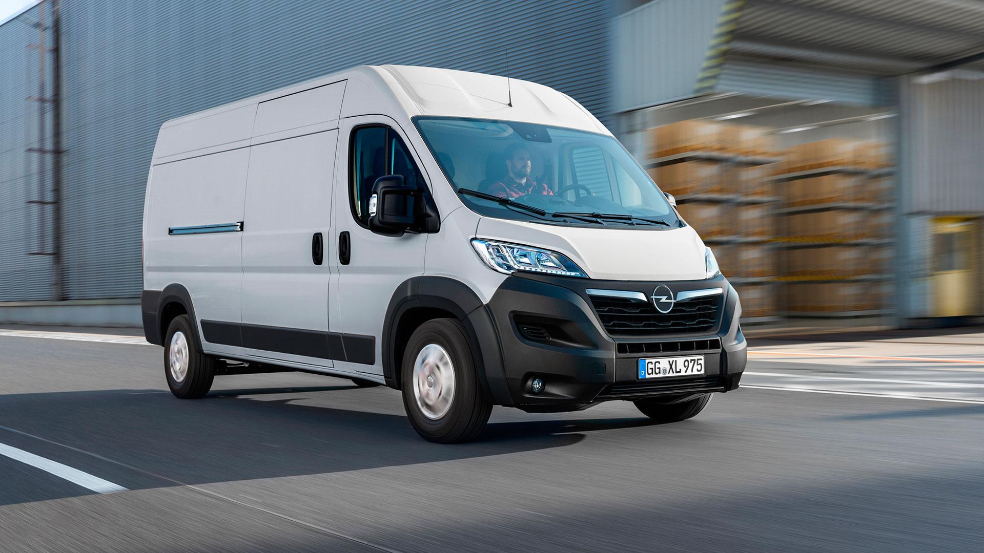 Nuevo Opel Movano 2021: ahora con versión 100% eléctrica
