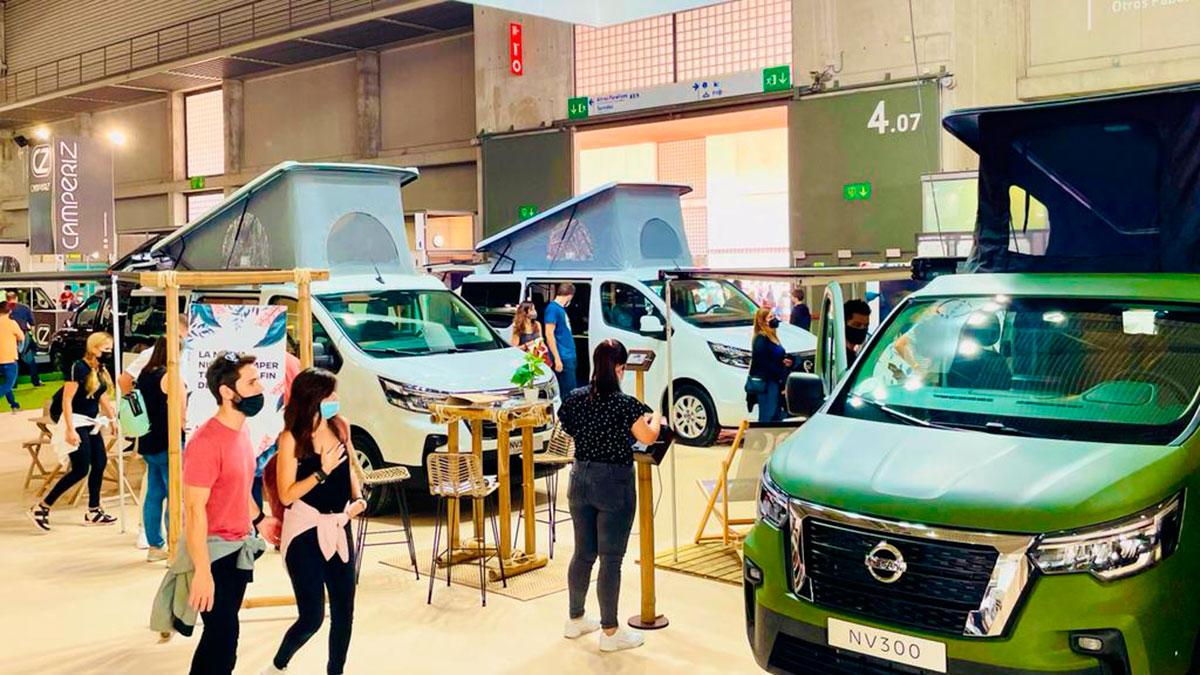 Nueva Nissan NV300 Camper 2022: más eficiente y con mayor personalización