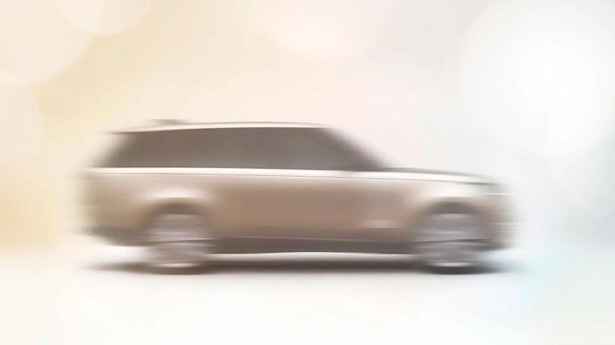 Nuevo Range Rover 2022: primeras imágenes antes de su presentación